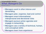 the management process what managers do module guide 2 2