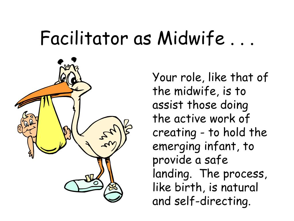 Facilitator as Midwife . . .