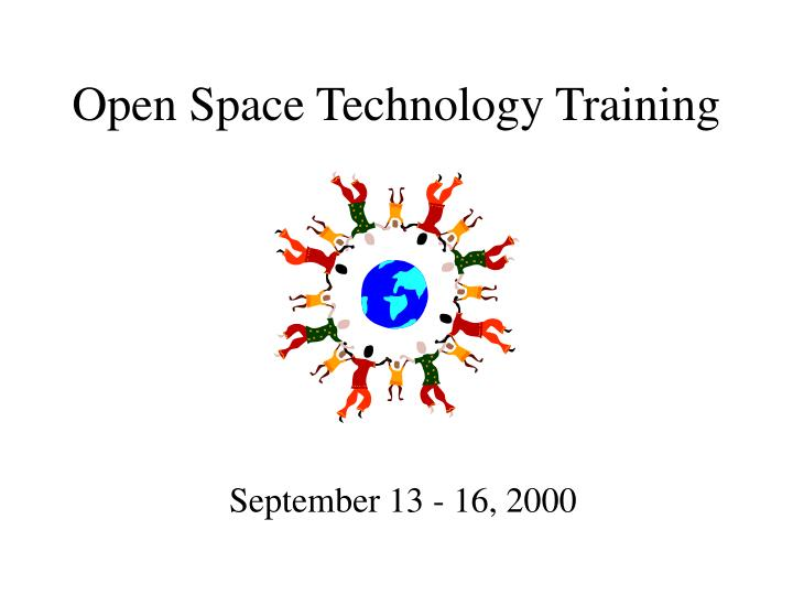 Open Space Technology Training
