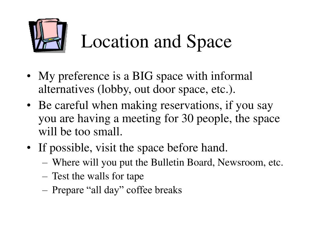 Location and Space