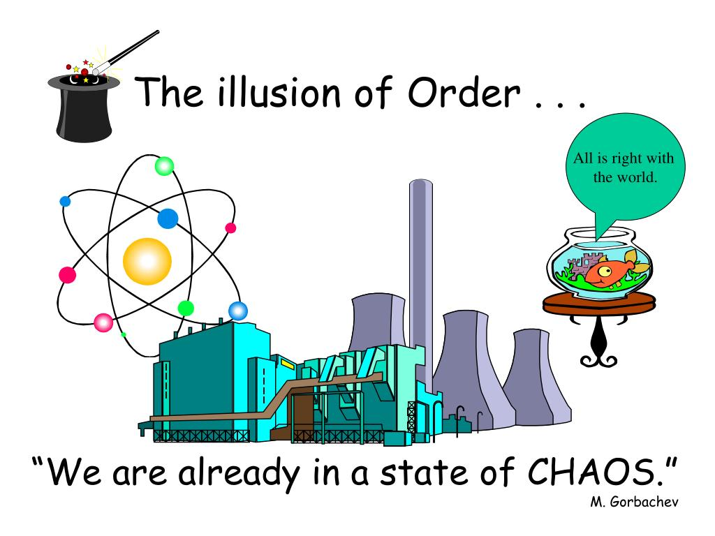 The illusion of Order . . .