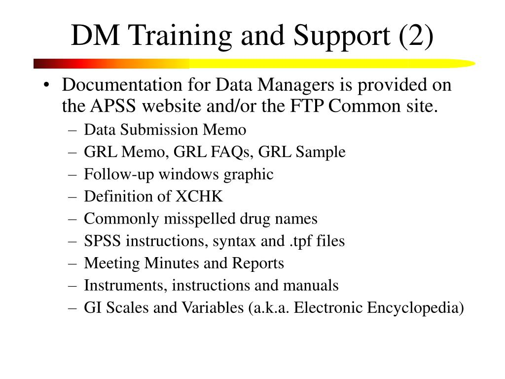 DM Training and Support (2)