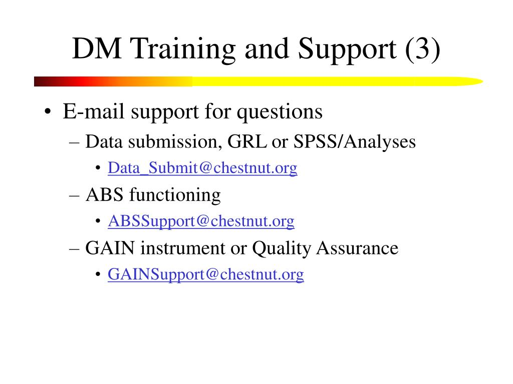 DM Training and Support (3)