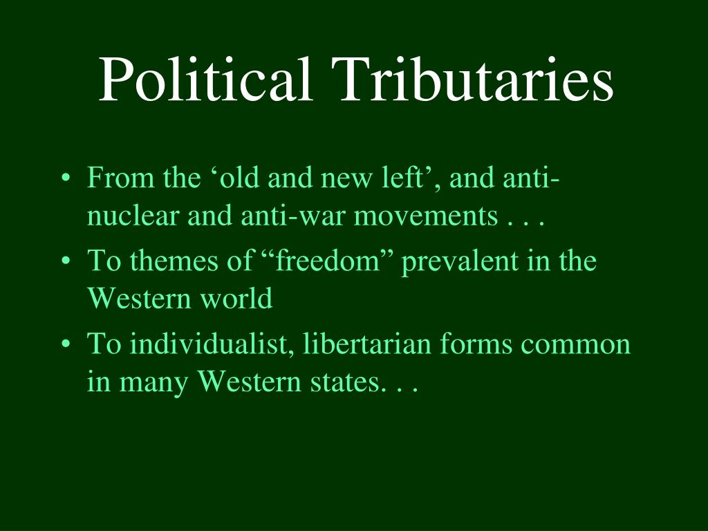 Political Tributaries