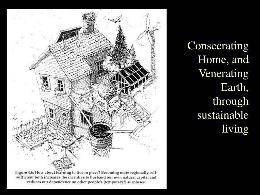 Consecrating Home, and Venerating Earth, through sustainable living