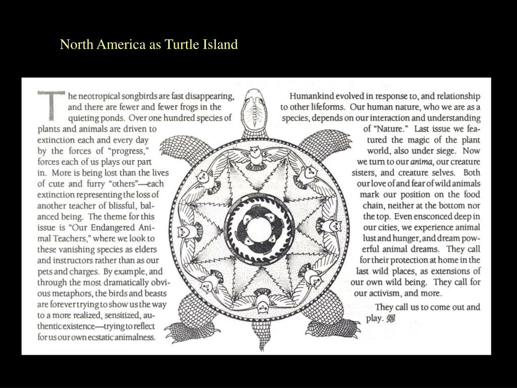 North America as Turtle Island
