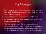 key messages52