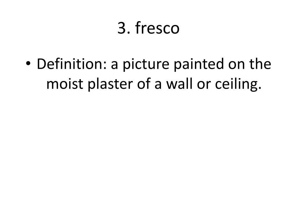 3. fresco