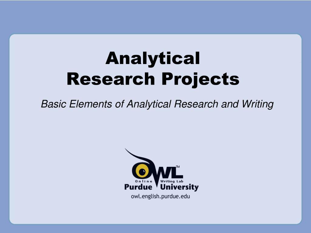 Purdue OWL: Essay Writing
