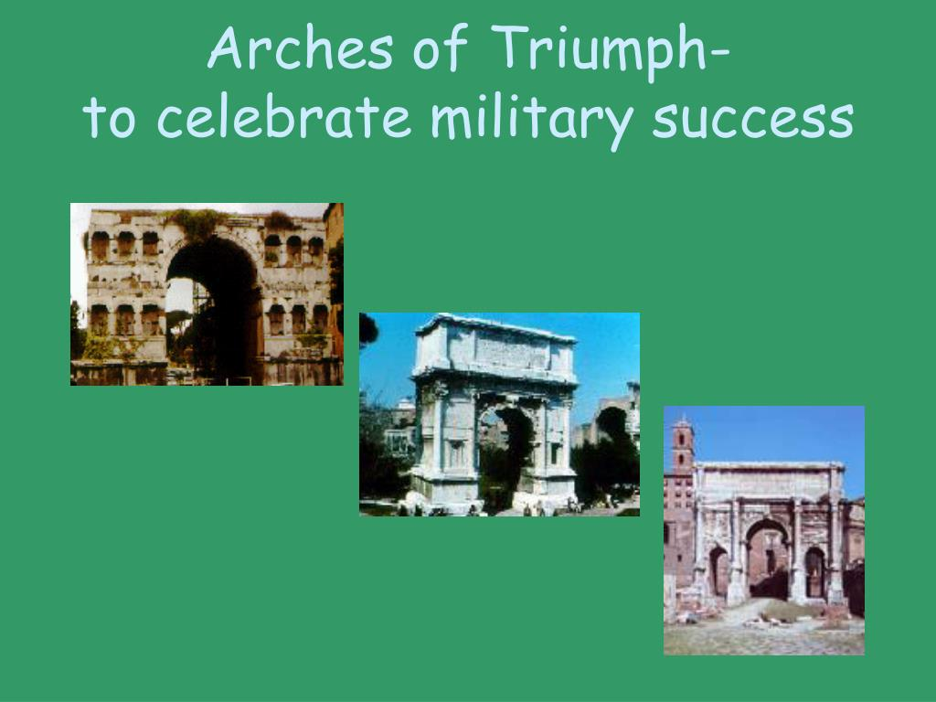 Arches of Triumph-