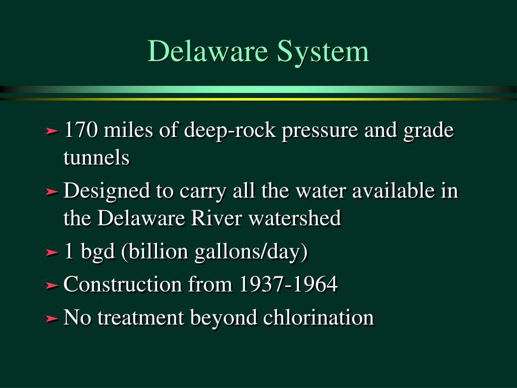 Delaware System