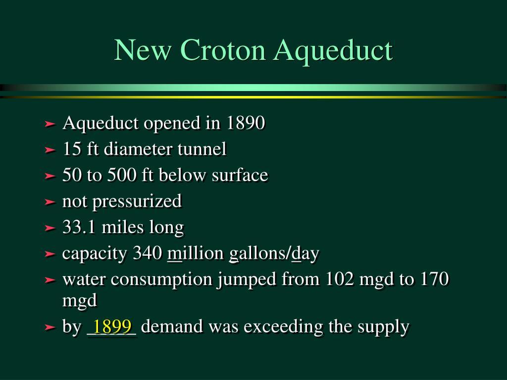 New Croton Aqueduct