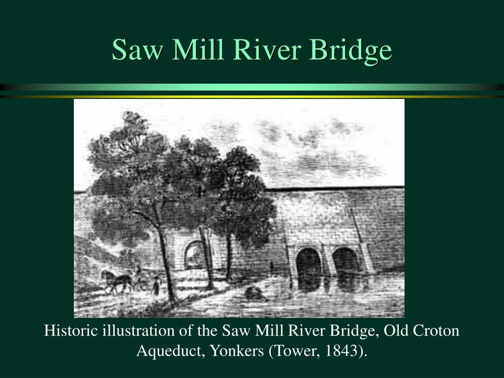 Saw Mill River Bridge