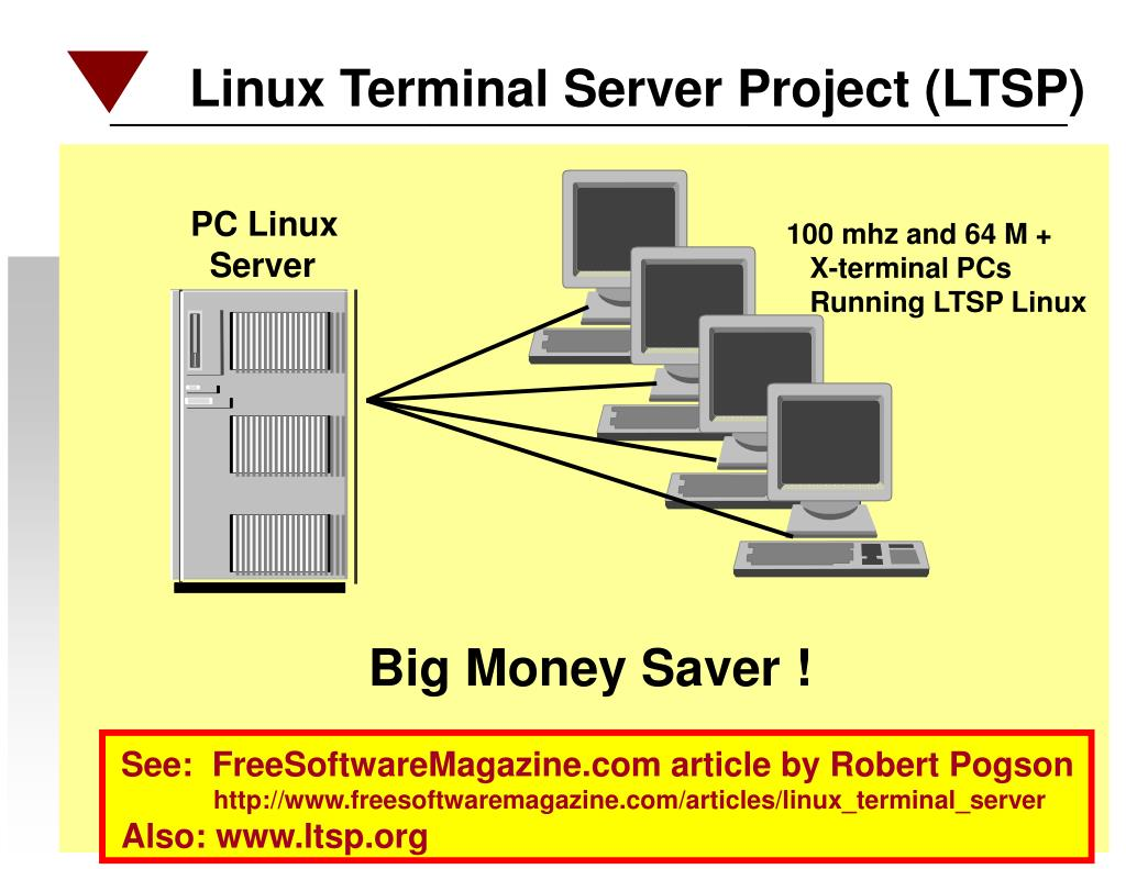 Linux Terminal Server Project (LTSP)