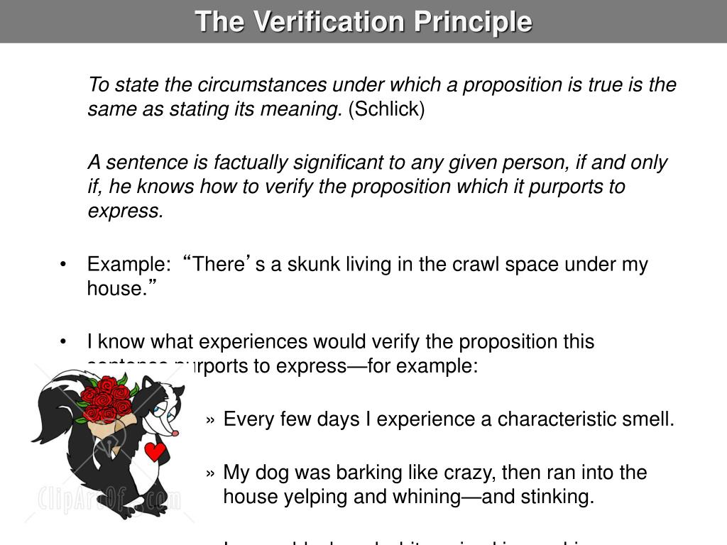 the verification principle 2 essay I need notes on the verification and falsification principle  add in some rm hare, eschatological verification, mitchell, and a decent essay is made  0 reply.