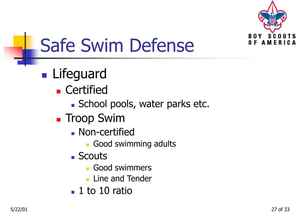 Safe Swim Defense