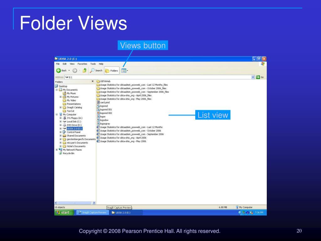Folder Views