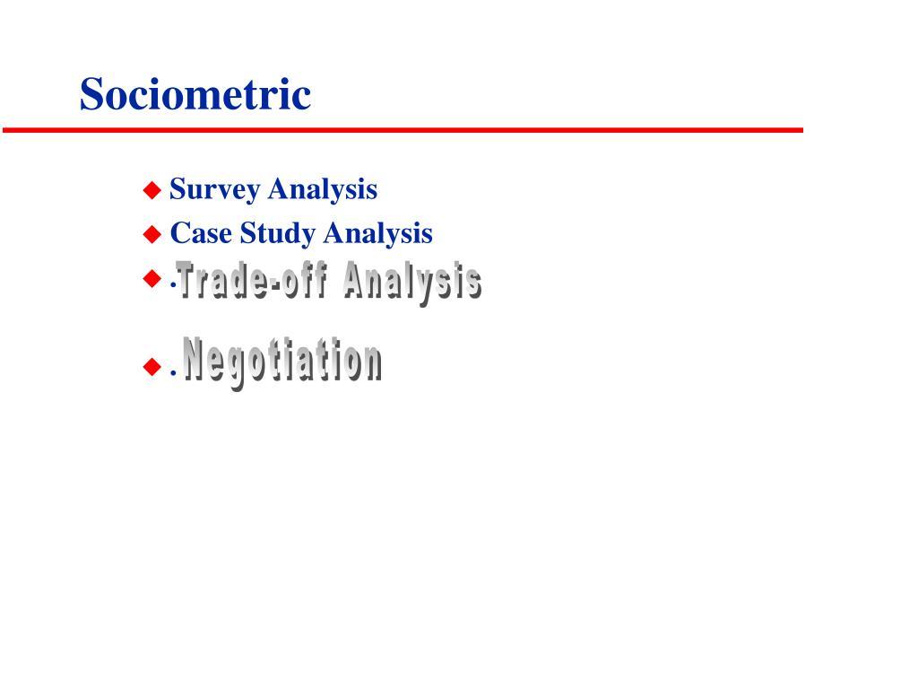 Sociometric