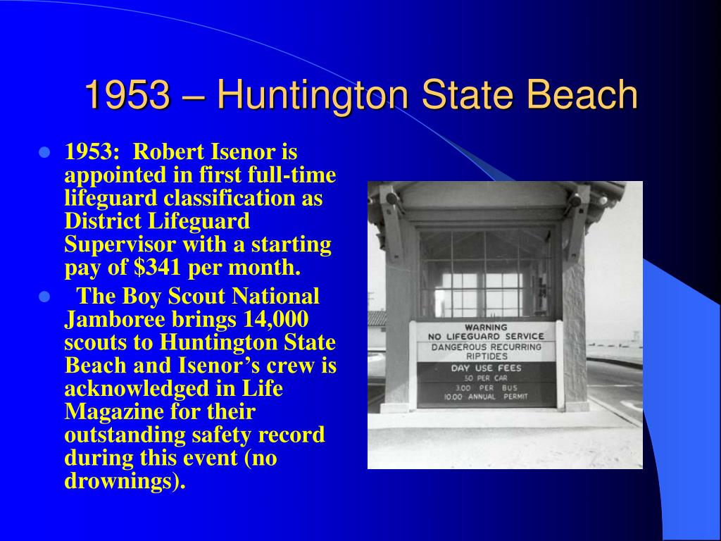 1953 – Huntington State Beach