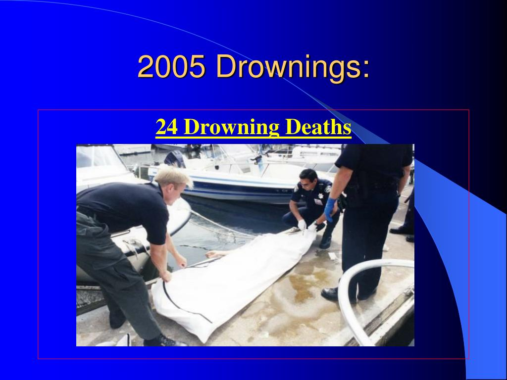 2005 Drownings: