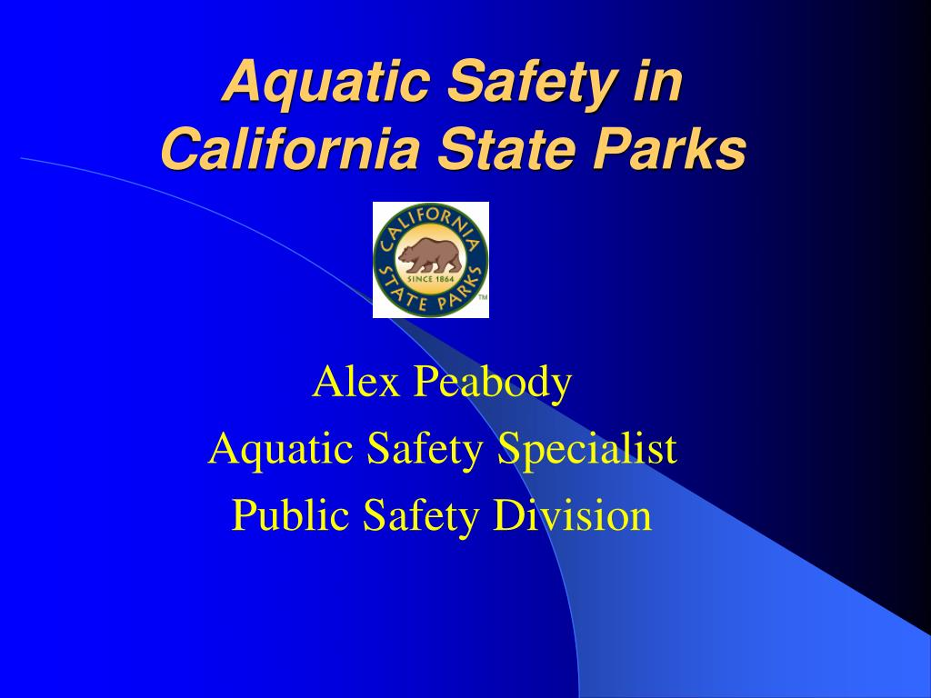 Aquatic Safety in