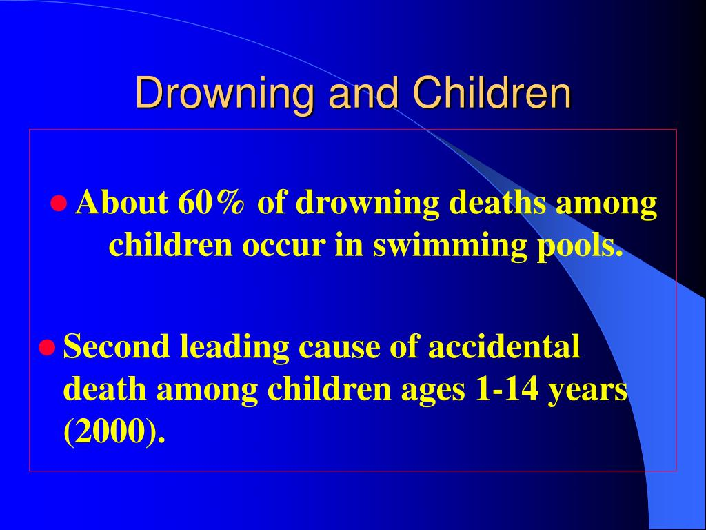 Drowning and Children