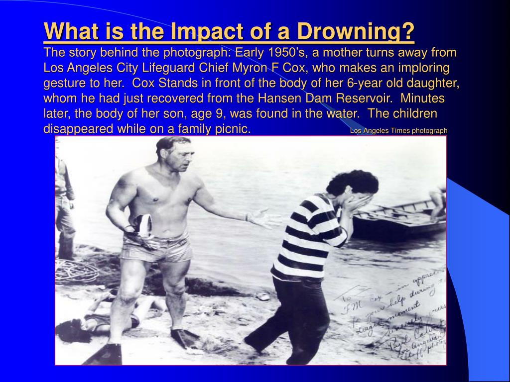 What is the Impact of a Drowning?