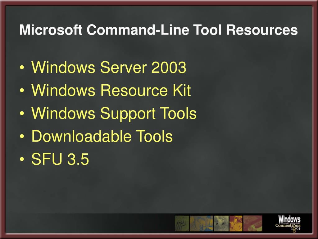 Microsoft Command-Line Tool Resources