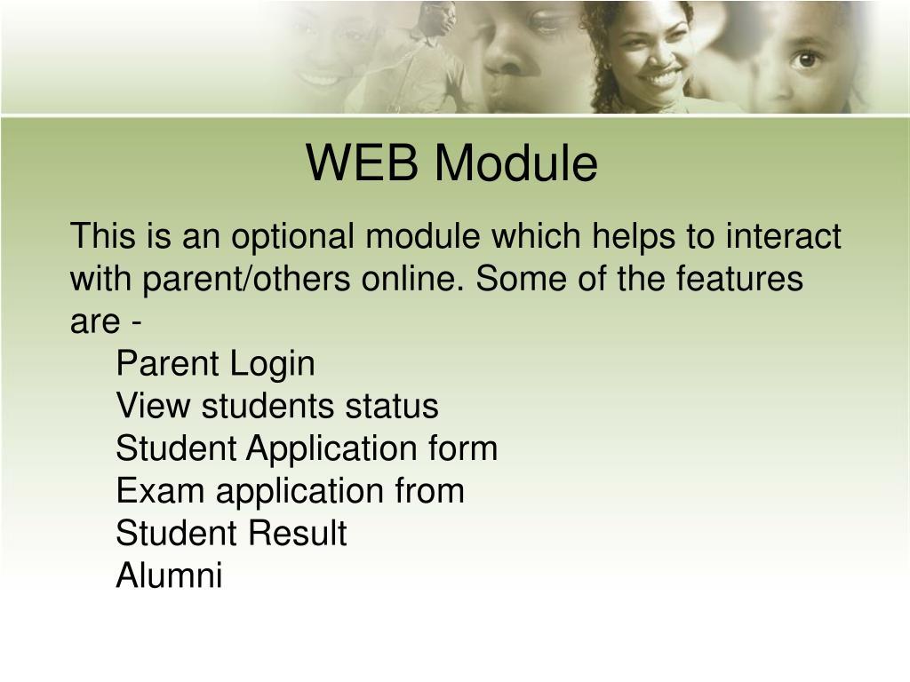 WEB Module