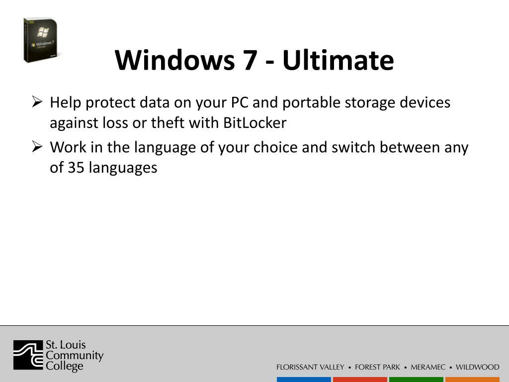 Windows 7 - Ultimate