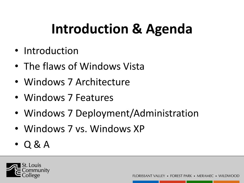 Introduction & Agenda