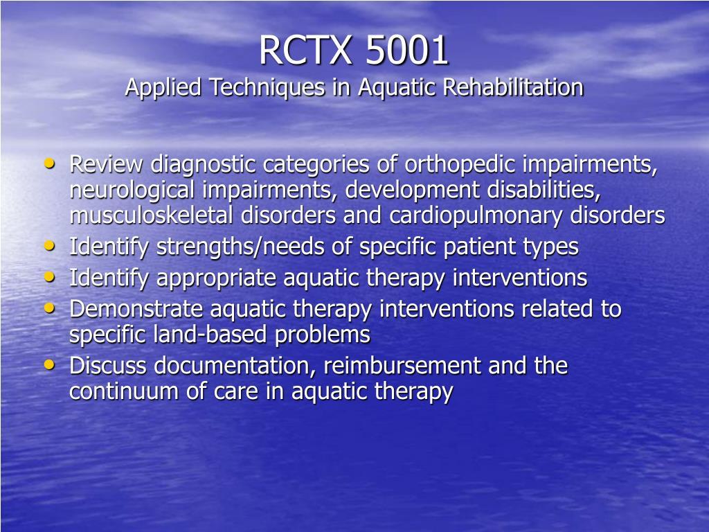 RCTX 5001