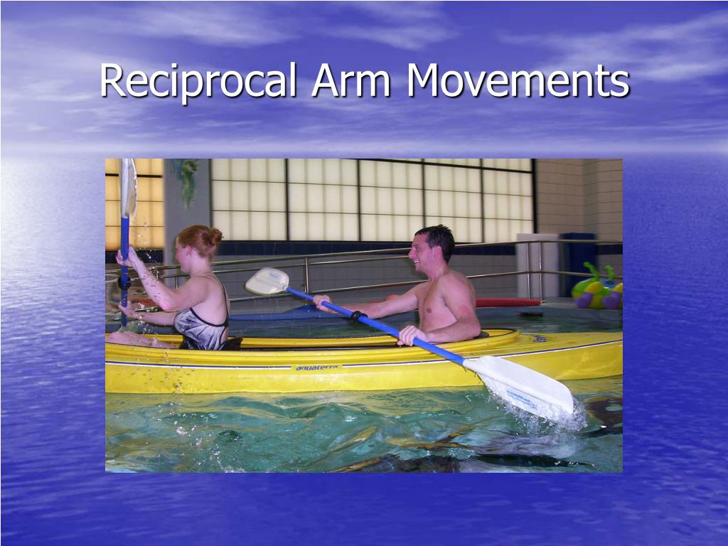 Reciprocal Arm Movements