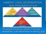 habitat loss degradation and fragmentation16