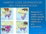 habitat loss degradation and fragmentation17