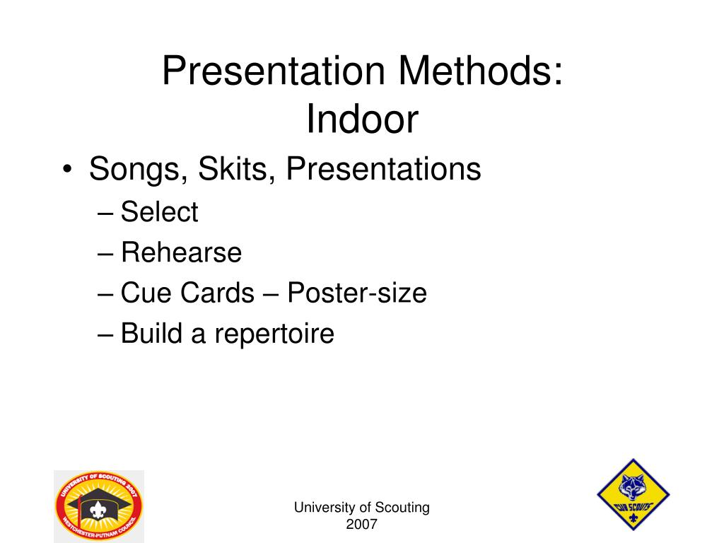 presentation methods Overview of quantitative methods an overview of quantitative research overview of quantitative research - following is a narrated powerpoint presentation that provides an excellent overview of quantitative research and the issues that will be discussed in these research ready modules.