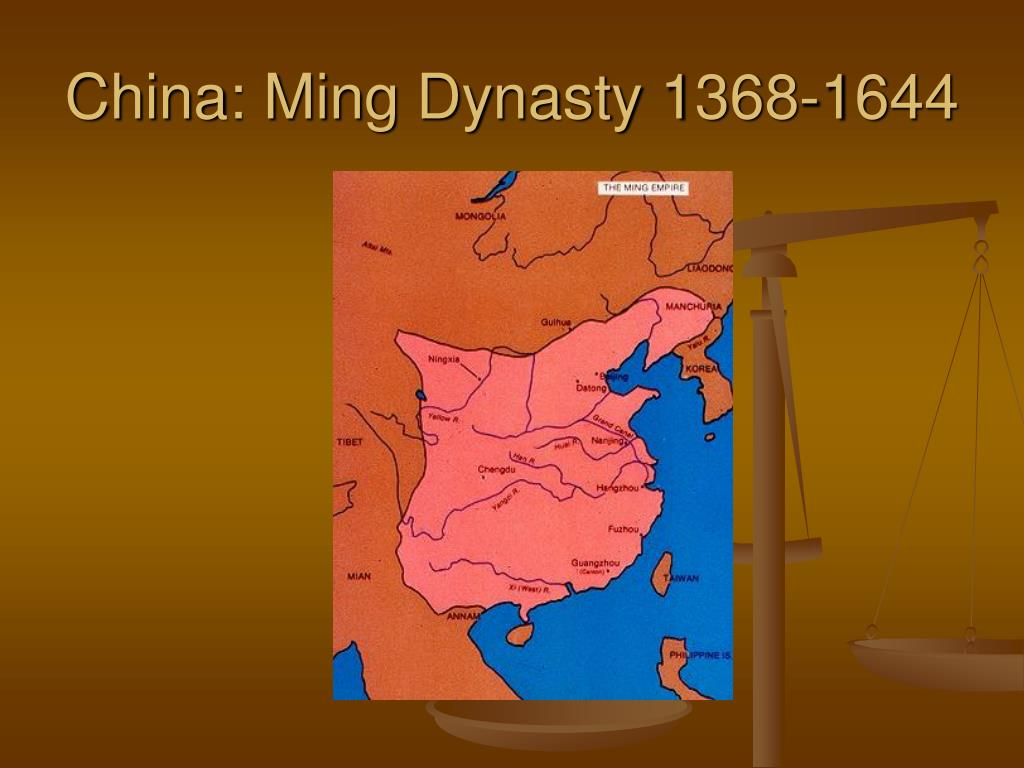 China: Ming Dynasty 1368-1644