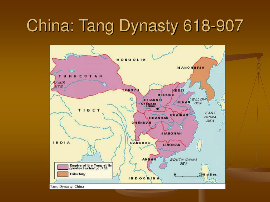 China: Tang Dynasty 618-907