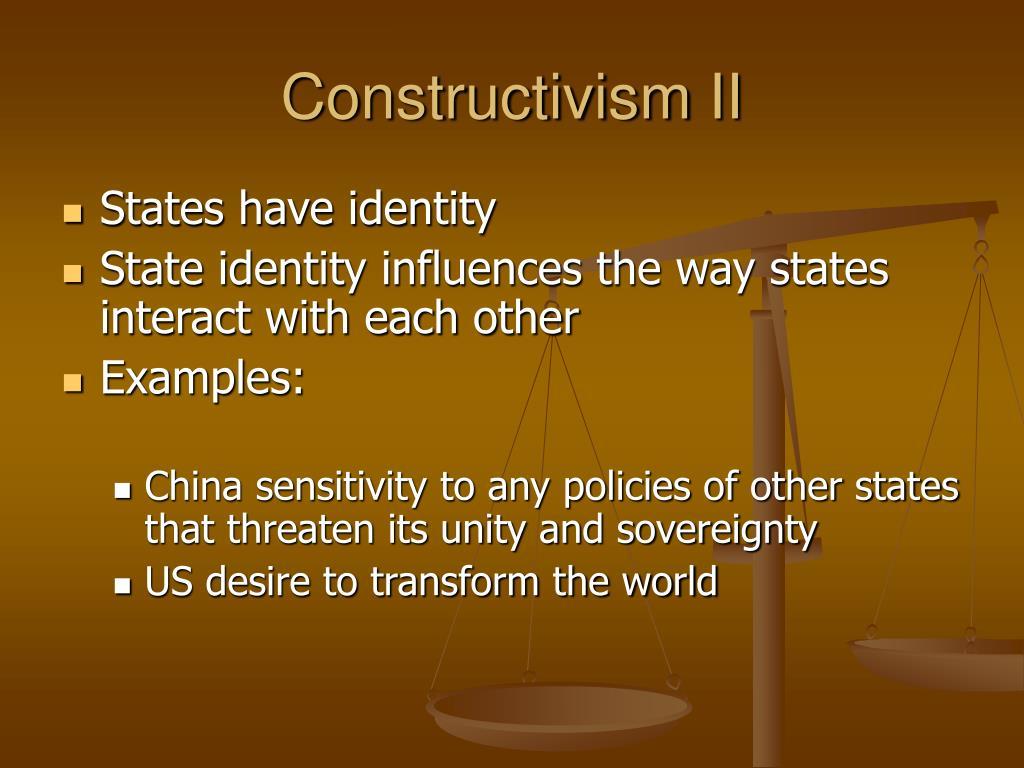 Constructivism II