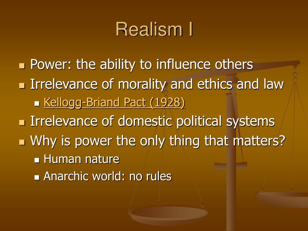 Realism I