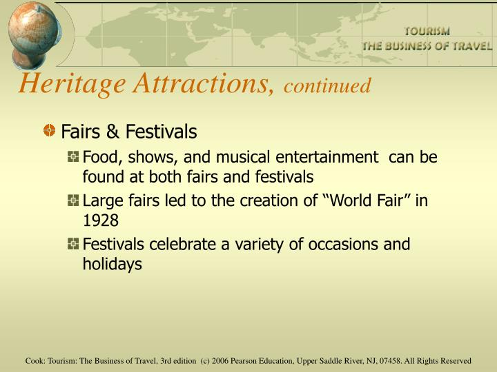 Heritage Attractions,