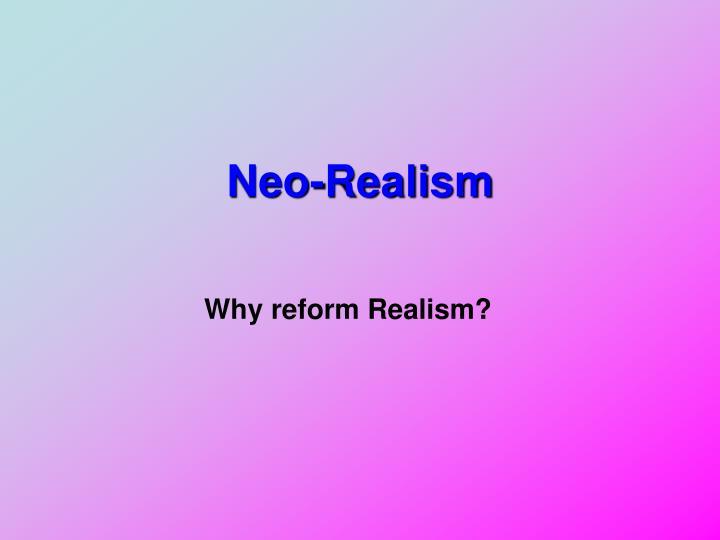 Neo-Realism