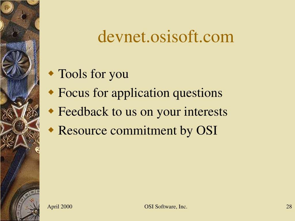 devnet.osisoft.com
