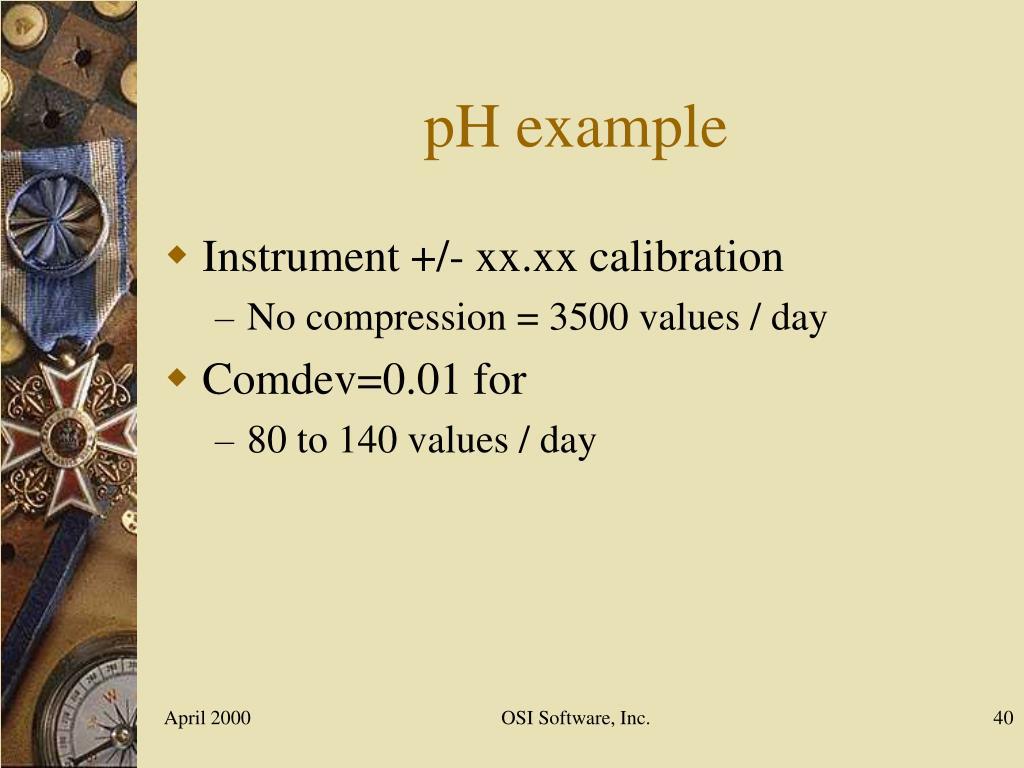 pH example