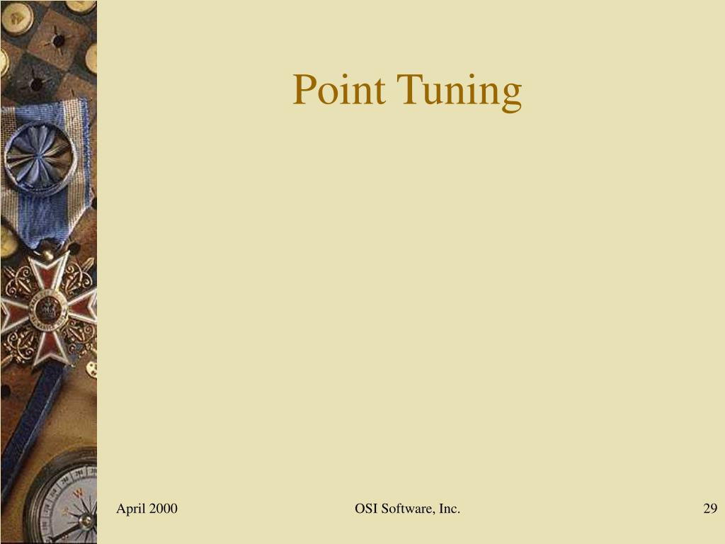 Point Tuning