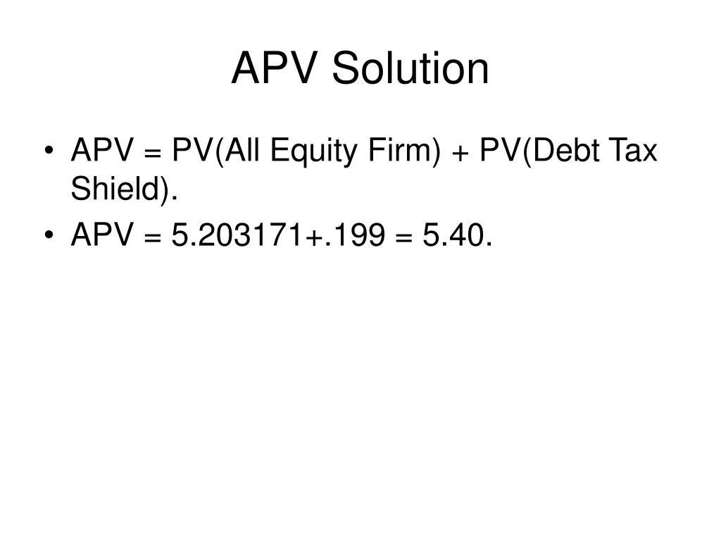 APV Solution