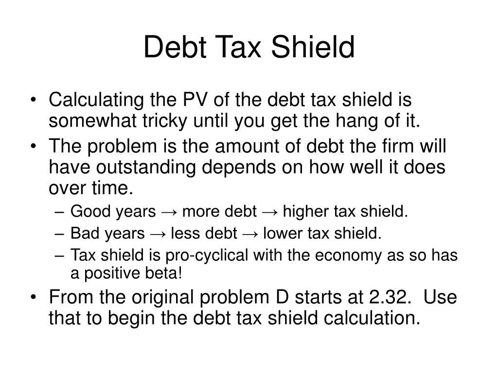 Debt Tax Shield