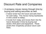 discount rate and companies