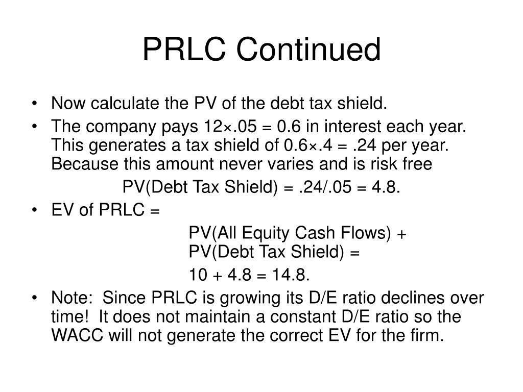 PRLC Continued