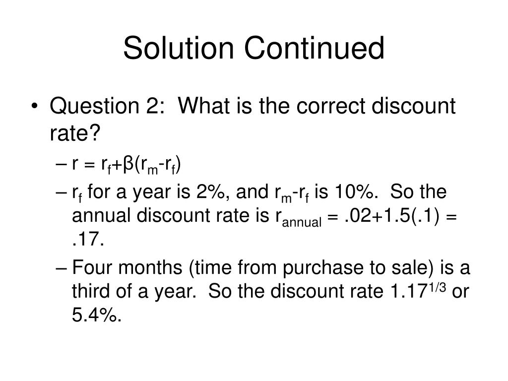 Solution Continued